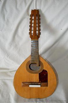 Magnífica y antigua bandurria ALFONSO CHECA, BAZA, GRANADA, 1963 / Instrumentos musicales en todocoleccion