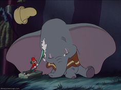 Dumbo, Timothy is such a good friend.
