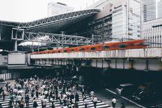 Osaka Station by NandinYuan