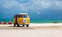 yellow bus in a paradise ◉ pinned by  http://www.waterfront-properties.com