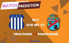 Talleres Cordoba vs Arsenal de Sarandi