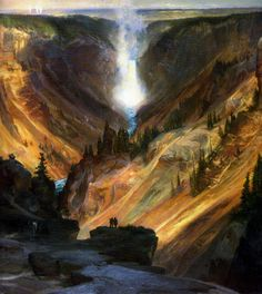 Thomas Moran art | thomas moran my absolute favorite artist here painted a wondrous awe ...