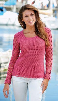 Crochet Jumper, Knit Crochet, Free Crochet, Christmas Knitting Patterns, Crochet Patterns, Knitting Supplies, Dress Gloves, Crochet Woman, Yarn Brands