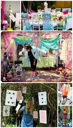 Alice in Wonderland Mad Tea Party. This shall be my birthday party :)
