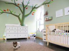 papeis de parede para quarto de bebe masculino de arvore