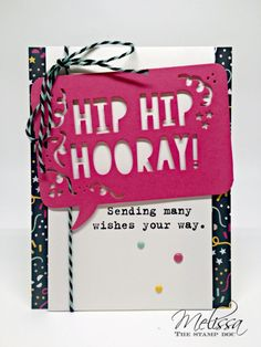Hiphiphooray - SU - Party with Cake bundle - birthday