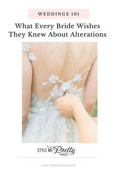 You want your wedding gown to fit like a glove, not just for looks, but for functionality! So on SMP, were sharing some helpful tips when it comes to getting alterations and sharing what every bride wishes they knew about getting their dress altered!  Photography: @kelseaholderphoto  #weddinggown #weddingdressalterations #weddingtips #bridalfashion #weddingdress