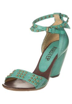 AirStep  High heeled sandals - turquoise