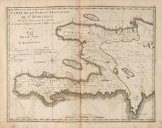 Image ID: 1404014    A map of the French part of St. Domingo.  [Carte de la partie Françoise de St. Domingue, faite par Bell...] (1814) #Haiti #map