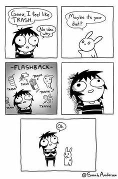 Anybody who's familiar with the comics of Sarah Andersen will know how perfectly they summarize the daily struggles of modern life, especially when it comes to Sarah Anderson Comics, Sara Anderson, Saras Scribbles, Sarah See Andersen, Funny Cartoons, Funny Memes, Hilarious, Jokes, Funny Gifs