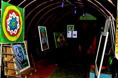 Mostra Coletiva de Artes Plásticas foi exposta no Malocão Cultural durante Boa Vista Junina 2015 #pmbv #prefeituraboavista #roraima #boavista