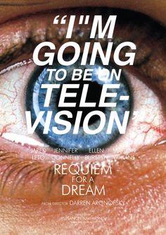 Alternative Requiem for a Dream poster by Kunanon Namwong Requiem For A Dream, Darren Aronofsky, Alternative Movie Posters, Movies, Celebrities, Celebs, Films, Cinema, Movie