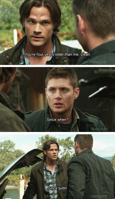 Shared by Bilge. Find images and videos about funny, supernatural and Jensen Ackles on We Heart It - the app to get lost in what you love. Sammy Supernatural, Supernatural Series, Supernatural Quotes, Sherlock Quotes, Sherlock John, Sherlock Holmes, Spn Memes, Watson Sherlock, Jim Moriarty