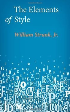 The Elements of Style by William Strunk Jr., http://www.amazon.com/dp/1499142234/ref=cm_sw_r_pi_dp_L4PZtb10XY10T