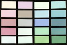Miami Beach Color Palette, Created by MDPL's Leonard Horowitz