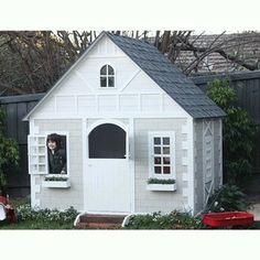 'Alice' Tudor Style Cubby House for backyard historical LARPing