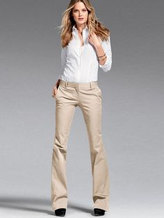 HE KATE FLARE PANT IN STRETCH COTTON но цвет Metropolis Grey