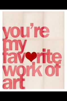 Valentine quote.