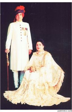 Major Nawab Sayyid Zulfikar Ali Khan Bahadur b.11 March 1933 was an Indian politician and army officer who ruled as Titular Nawab of Rampur from 8 Feb 1982 to - 5 April 1992, succeeding his elder brother. In 1956, he married HH Noor Bano d/o Nawab of Loharu. The Nawab was killed in a motor crash on 5 April 1992.
