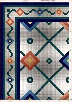 Resultado de imagem para TAPETES DE ARRAIOLOS: Almofada Rosinhas de Portugal - Opção verde