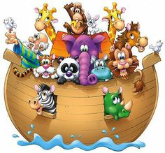 Lindos dibujos del arca de noe