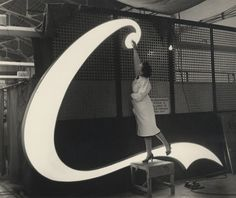 Font Bistro: Making of a Coca-Cola neon sign (Atlanta, 1954)