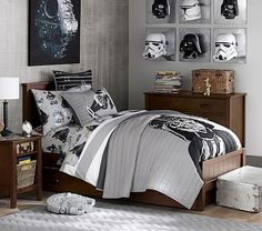 Parker Bed #pbkids these are on sale and two would fit their room also the Belden beds would fit