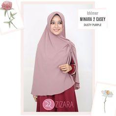 "49 Likes, 3 Comments - Gamis Zizara (@gamiszizara) on Instagram: ""Khimar Zizara Minara 2 Casey Dusty Purple - hijab kerudung khimar jilbab syari Kini hadir untukmu…"""