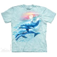 The Mountain Dolphin Sunset T-Shirt