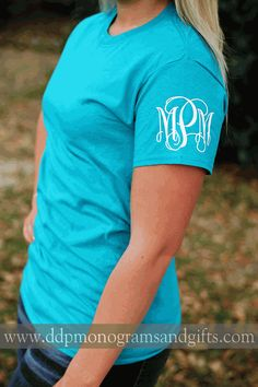PERSONALIZED LEFT SLEEVE INITIAL TROPICAL SHORT SLEEVE SHIRT