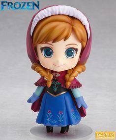 Boneca Nendoroid Princesa Anna (Frozen – Uma Aventura Congelante)