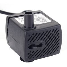 Fashionable Patterns Submersible Water Pump With 5.9ft Power Cord Two Nozzles For Water Fountains Pumps (water) Pet Supplies