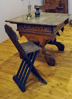 St. Thomas guild - medieval woodworking, furniture and other crafts: furniture