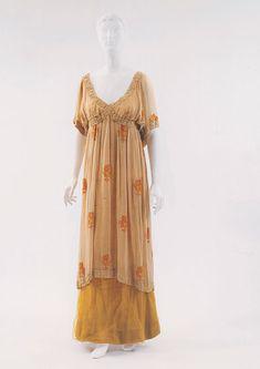Paul Poiret chiffon dress, ca. 1912.  MCNY.