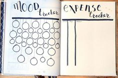 Mood & expense tracker - december Festive gold and black holiday theme
