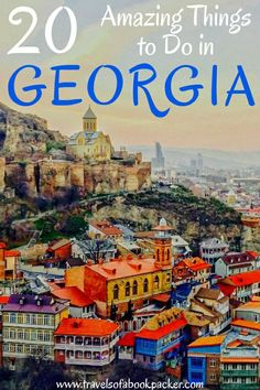 Read about why Georgia will be the next big travel destination! Here is a list of incredible things to do in Georgia (country) to inspire your trip. From impressive attractions to delicious food and quirky local experiences. #georgia #caucasus #georgiatravel #visitgeorgia #amazingthingstodoingeorgia #bestthingstodoingeorgia #bestthingstoseeingeorgia #bestthingsgeorgia #tbilisi #batumi #kutaisi #kazbegi #signaghi