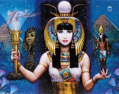 Karl Bang,Египетска богиня