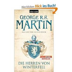 Game of Thrones volume 1 (in German, meaning it's the first half of the English first volume because they's split them up here). Die Herren Von Winterfell, Kindle, Game Of Thrones, Eddard Stark, Fantasy Books, Good Books, I Am Awesome, Songs, Reading