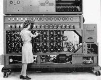 Bombe designed by Alan Turing it decrypted Nazi communication during World War 2