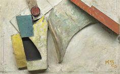 Kurt Schwitters signed Merzz. 80. Zeichnung 130 piece, 1920, Schwitters in Britain,Tate Britain