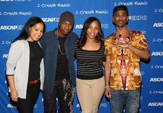 ASCAP's Jennifer Drake, Ne-Yo, ASCAP's Nicole George-Middleton and Big Sean