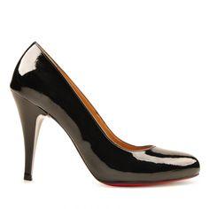 Marjin Ruppa Günlük Ayakkabı Siyah Rugan