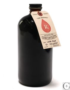 So not really packaging, I just like the idea of simple tags as a label.   Kickstand Coffee Cold Brewed Coffee Concentrate 32 oz ($20-50) - Svpply