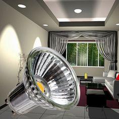 GU53 Lamp Holder AC220 240V 5W 520Lm LED Spot Light Suitable For
