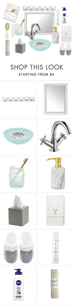 """Morning Wash (contest)"" by officialajaxxx ❤ liked on Polyvore featuring interior, interiors, interior design, home, home decor, interior decorating, Universal Lighting and Decor, Aquanova, Martha Stewart and Bloomingville"