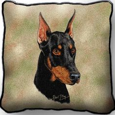 - Decorative pillow - Captures the beauty of a huge tapestry - Made in the USA…
