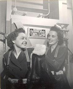Flight nurses in training, US Navy ~