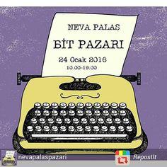 24 Ocak'ta Neva Palas Bit Pazarındayız. Hepinizi bekliyoruz! #nevapalasbitpazari #bitpazarı #tasarım #design #Ankara
