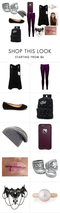 """One chance sleep over"" by explorer-14484921021 on Polyvore featuring Solid & Striped, Vans, BCBGMAXAZRIA, LifeProof, Belpearl and REGALROSE"