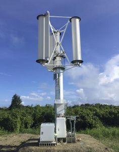 Buscan crear energía con los vientos de tifones....